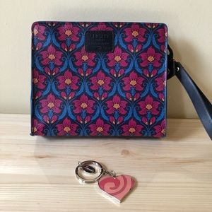 Accessories - Liberty London Wristlet and Harrods Keychain